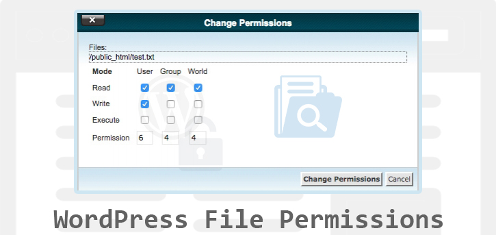 How Do WordPress File Permissions Work?