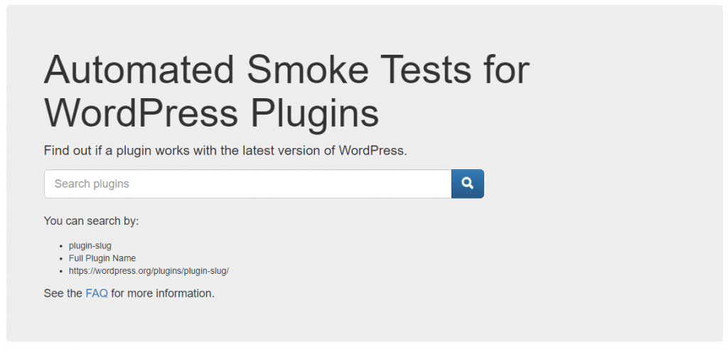 Find out if a plugin works with the latest version of WordPress
